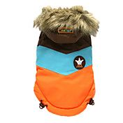 Lovely Three-Colored Warm Skiing Suit with Ho... – USD $ 21.69