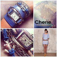 #Modèle/Style : Corsica #Chérie, Montre-moi #Montres/Watches