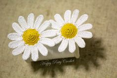 In here you will find pattern and instructions for one of my mini Daisies. Its uber-friendliness, easily makes it one of my favorite mini Daisies – It goes great with almost any project. Being not too obtrusive due to its…