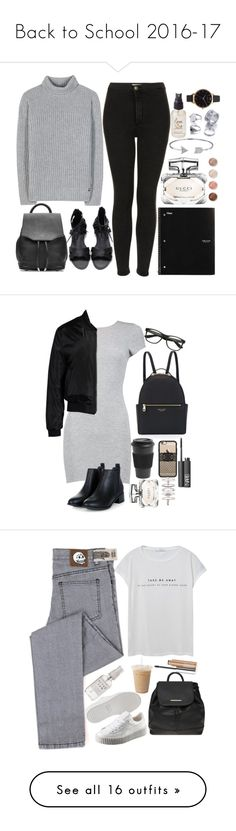 """Back to School 2016-17"" by lovelydgessy on Polyvore featuring Loro Piana, Topshop, rag & bone, Gucci, Bling Jewelry, Terre Mère, Olivine, Olivia Burton, Boohoo and Sans Souci"