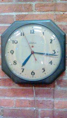 Vintage Industrial Clock