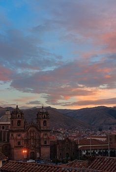 My heart aches to see this sunset again....I do believe I left a part of my heart in this city... Peru