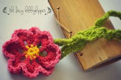 The Lazy Hobbyhopper: Spring flower headband - free pattern