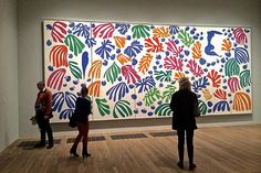Painting with scissors: Matisse's cut-outs at Tate Modern – That's How The Light Gets In Henri Matisse, Matisse Art, Raoul Dufy, Acrylic Painting Lessons, Oil Painting Abstract, Painting Art, Watercolor Painting, Matisse Cutouts, Arte Online