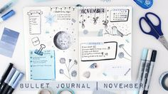 Bullet Journal | November Plan With Me - YouTube
