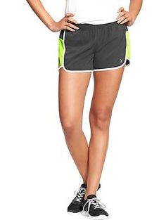 "Women's Old Navy Active Pique-Mesh Shorts (3-1/2"") 
