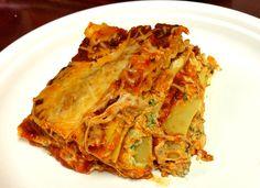 Vegetarian Lasagna with Parsley  http://www.duckinapot.com/italian/lasagna/