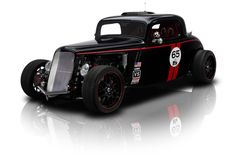1933 Ford Coupe Black