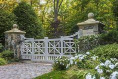 Farm Entrance, Driveway Entrance, Farm Gate, Fence Gate, Fences, Front Gates, Entrance Gates, Gates And Railings, Driveway Landscaping