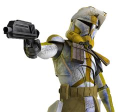 Star Wars: The Clone Wars - Clone marshal commander Bly, 327th Star Corps / Jedi General Aayla Secura