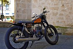 "Garage Project Motorcycles • ""Smokey"" - Suzuki GP125"