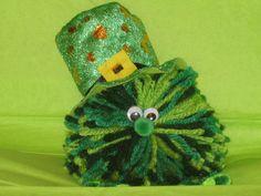 St. Patrick's Day Pom Pom Critter $4.95