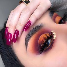 Makeup Eye Looks, Eye Makeup Art, Cute Makeup, Gorgeous Makeup, Pretty Makeup, Skin Makeup, Eyeshadow Makeup, Fall Makeup, Eyeshadows
