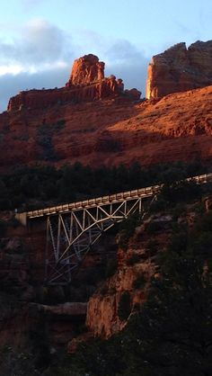Sedona, AZ- Driving over this bridge used to scare me when I lived there- then I became used to it.