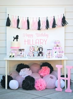 Pink Poodle Party by