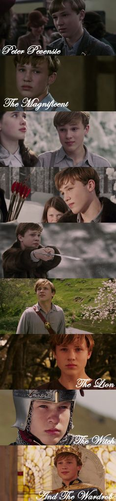 *Peter Pevensie - The Magnificent* #TheLionTheWitchAndTheWardrobe