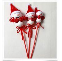 2016 Hot 24 ks / set vianočný strom dekorácie, ozdoby snehuliak, nový rok dekorácie