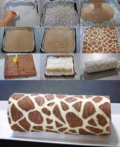 bolo girafa / giraffe cake