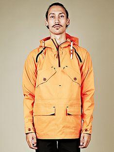 Nike NSW Men's Ventile Anorak in orange at oki-ni