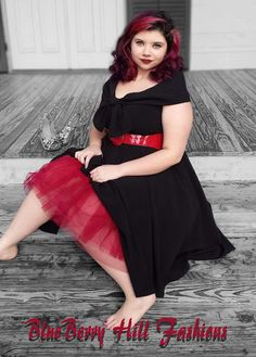 BlueBerryHillFashions: Plus Size Rockabilly Clothing for LESS | sizes up to 4x | $49.95 Dresses and more