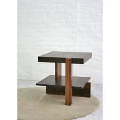 Artistic mid-century side table for den area or bedroom(s).