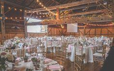 Belcroft Estates Wedding Reception setup photo