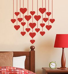 When it comes to Valentine's Day decor, think outside your average box of chocolates! Our Valentine's Day selection has bold reds and heartfelt styles that capture the style of the season. From pillows to banners, find the perfect Valentine's Day . Diy Valentine's Day Decorations, Valentines Day Decorations, Valentine Day Crafts, Be My Valentine, Decor Ideas, Diy Ideas, Craft Ideas, Romantic Valentines Day Ideas, Romantic Ideas