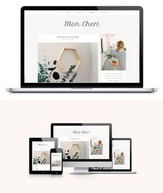 Mon Cheri - A Wordpress Theme. WordPress Blog Themes. $35.00
