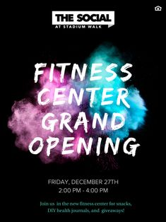 The wait is over! Our Fitness Center renovations are complete, and the facility is bigger and better Pick Up, Student Apartment, Student Living, Good Student, Fort Collins, Grand Opening, Fitness, Nutritious Snacks, Free