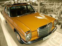 Mercedes 200 ( ) 1975 Engine: Picture made in the Auto- & Technikmuseum in Sinsheim ( Germany ) sinsheim. Mercedes W114, Mercedes Benz 200, Mercedes Benz Classes, Old Mercedes, Classic Mercedes, M Benz, Mercedez Benz, Daimler Benz, Old Cars