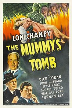 , Turhan Bey, Dick Foran, Wallace Ford, and Elyse Knox in The Mummy's Tomb
