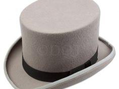 Grey 100% Wool Felt Top Hat Was £24.99 | Now £12.50 http://tidd.ly/dddd9cd5