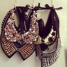 embellished collars