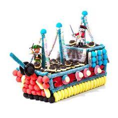 composition bonbon bateau pirate - Candy-Mail