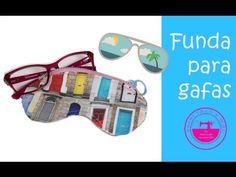 """El blog de """"Coser fácil y más by Menudo numerito"""" - Costura creativa: Funda para gafas, un regalo perfecto! (incluye patrón)"""