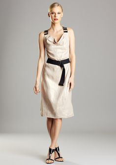 D&G dress on sale for $169 (from 630) #dress #tan
