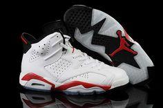 buy online 3506c 14fc5 Homme Nike Air Jordan 6 Blanc Rouge Noir  I43p  Nike Free Shoes, Nike