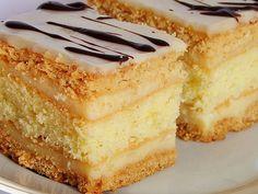 mniam…mniam…: królewiec… Source by bozenamarek Polish Desserts, Polish Recipes, Fat Free Vegan, Vegan Ramen, Custard Cake, Vegetarian Soup, Sweets Cake, Brownie Cake, Vanilla Cake