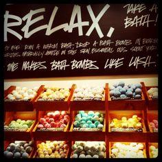 Relax, take a bath.  #lush #lushportsmouth #bath #ballistics