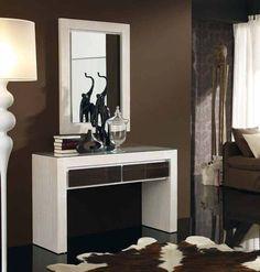 Consolas de madera modelo avedum decoracion beltran tu for Consolas decoracion hogar
