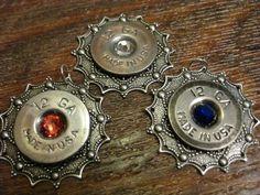 12 gauge elegant Shotgun Shell Antique Silver Filigree Necklace, Ammo Jewelry, upcycled ammunition by OnceFiredJewelry