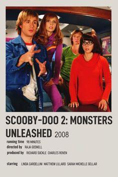 alternative minimalist Polaroid poster - scooby-doo 2