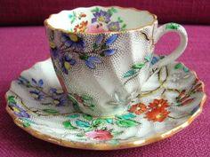 Copeland Spode Patricia Demitasse Cabinet Cup & Saucer