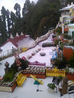 #SnowFall at MAYFAIR Hill Resort, #Darjeeling #HolidayInMAYFAIR