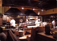 open kitchen at fore street, portland, maine