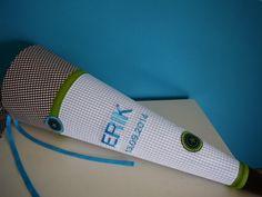 Schultüten - Schultüte aus Stoff mit Namen - ein Designerstück von haselinchen-shop bei DaWanda