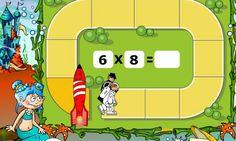 10 Juegos interactivos para repasar las tablas de multiplicar