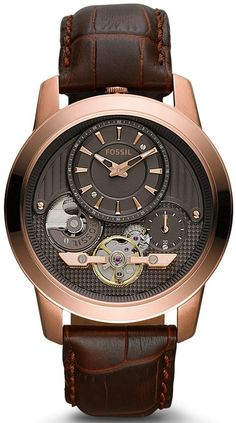 ME1114 - Authorized Fossil watch dealer - MENS Fossil GRANT, Fossil watch, Fossil watches