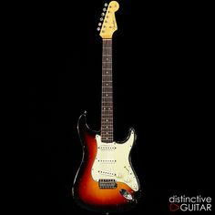 Attention collectors! Rare time capsule and an incredible piece of history - a 1964 Fender Stratocaster in excellent condition. Please take a look at our full photo spread to get an idea of the play wear of this instrument; we've also included detailed shots of internals and cavities. The playab...