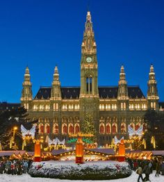 10 best places to spend new years - Vienna Austria